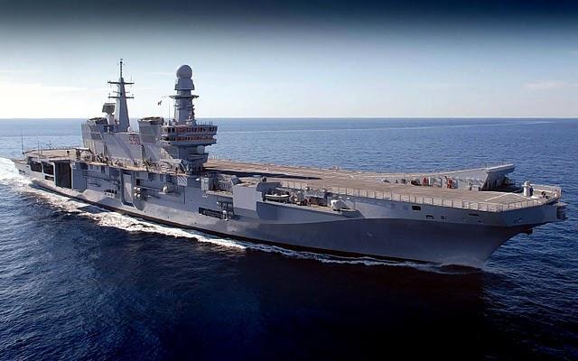Promuovi il tuo paese usa le navi da guerra comune info - Cavour portaerei ...