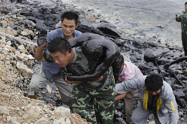 Dalian Oil Spill Accident