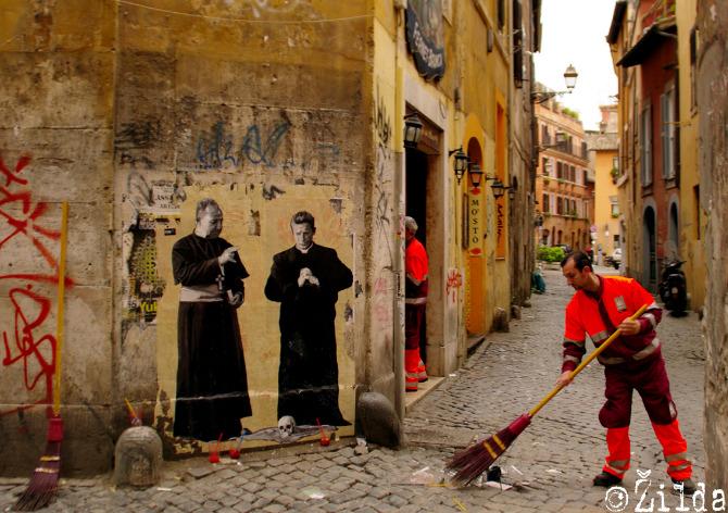 il bidone al trastevere roma