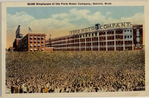 50,000 Employees of the Ford Motor Company, Detroit, MI 3453