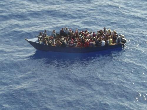 yola con gente a puerto rico