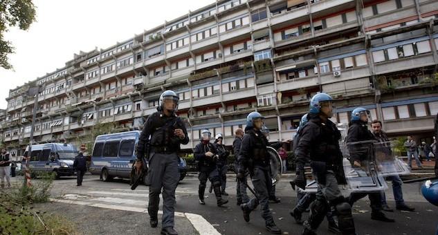 Italy Migrant Protest