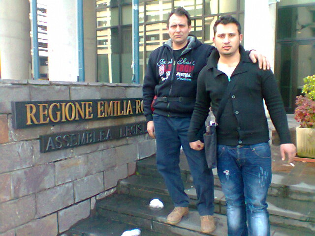 1 marzo 2013 Puju Daniel e Ljubo Halilovic Regione Emilia - incontro con il Difensore Civico Regionale