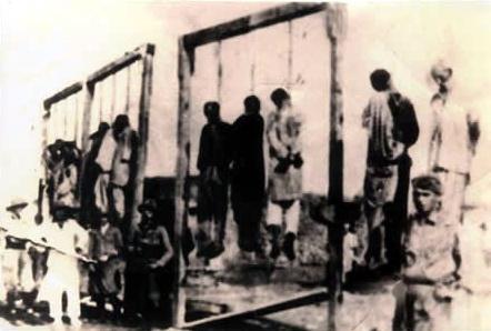 Liribelli libici impiccati nel 28