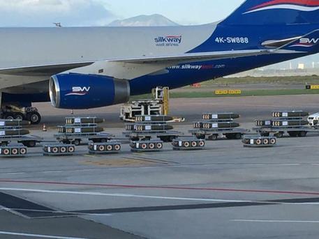 Pili: carico di morte all'aeroporto di Cagliari