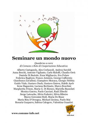 Copertina Seminare un mondo nuovo