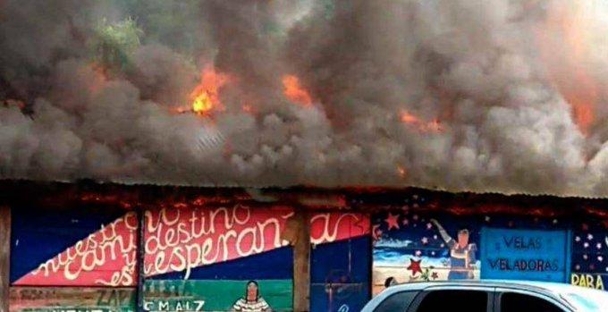 Se s'incendia il Chiapas