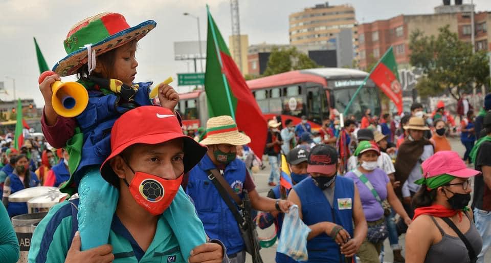 Rompere l'assedio in Colombia