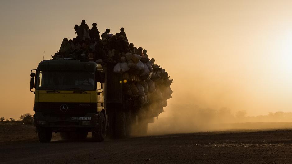 rifugiati deserto niger